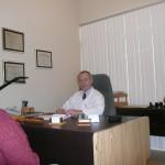 Le bureau du chiropraticien